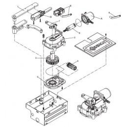 Arbre moteur - Pièce détachée motorisation BENINCA DUIT14N