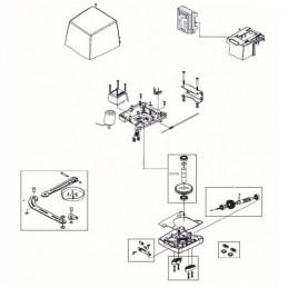 Pièce détachée motorisation LIFE ARMOR - 5RI1380000