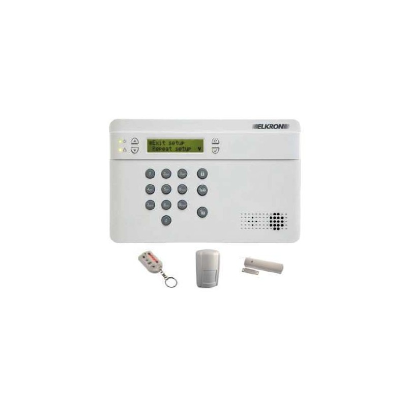 Kit alarme sans fil complet ELKRON UKCR200GSM