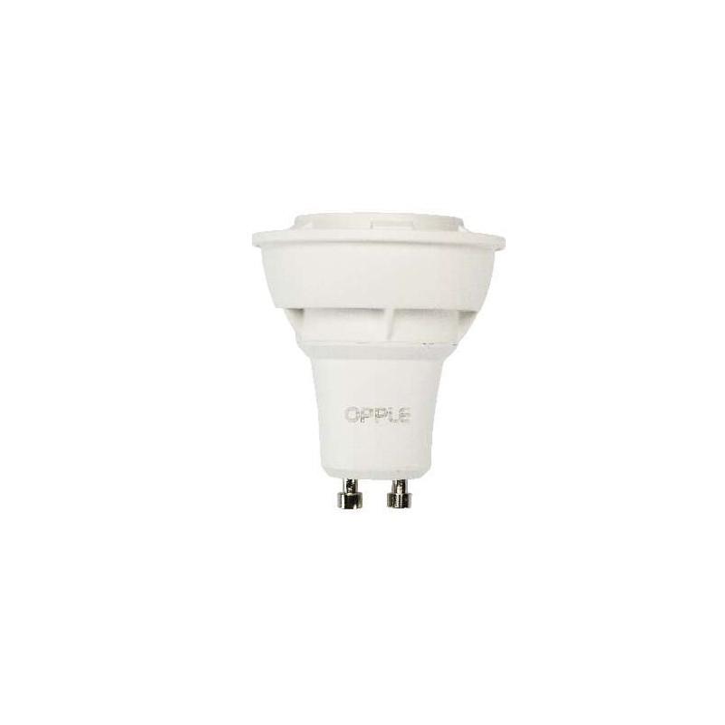 Ampoule LEDS 220V GU10 6,5W blanc chaud
