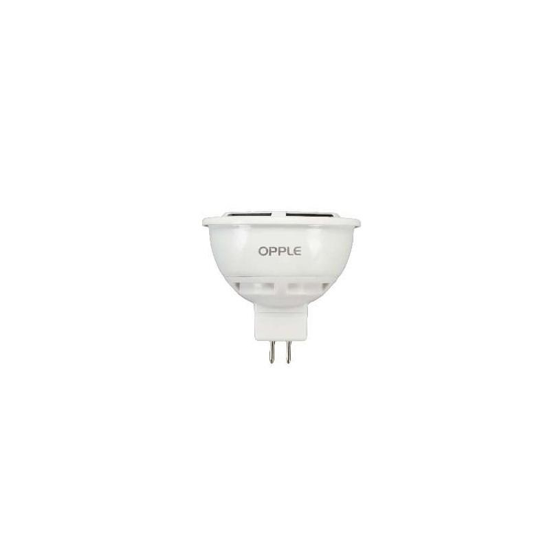 Ampoule LEDS 12V GU5.3 6,5W blanc chaud