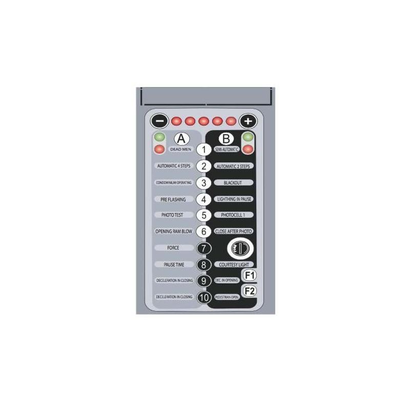 Clavier pour centrale commande automatisme LIFE 1 moteur - AGEM1