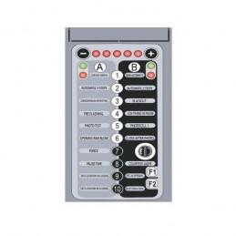 Clavier pour centrale commande automatisme LIFE 2 moteurs - AGEM2