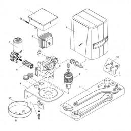 9686484 - Transformateur motorisation BENINCA BN24